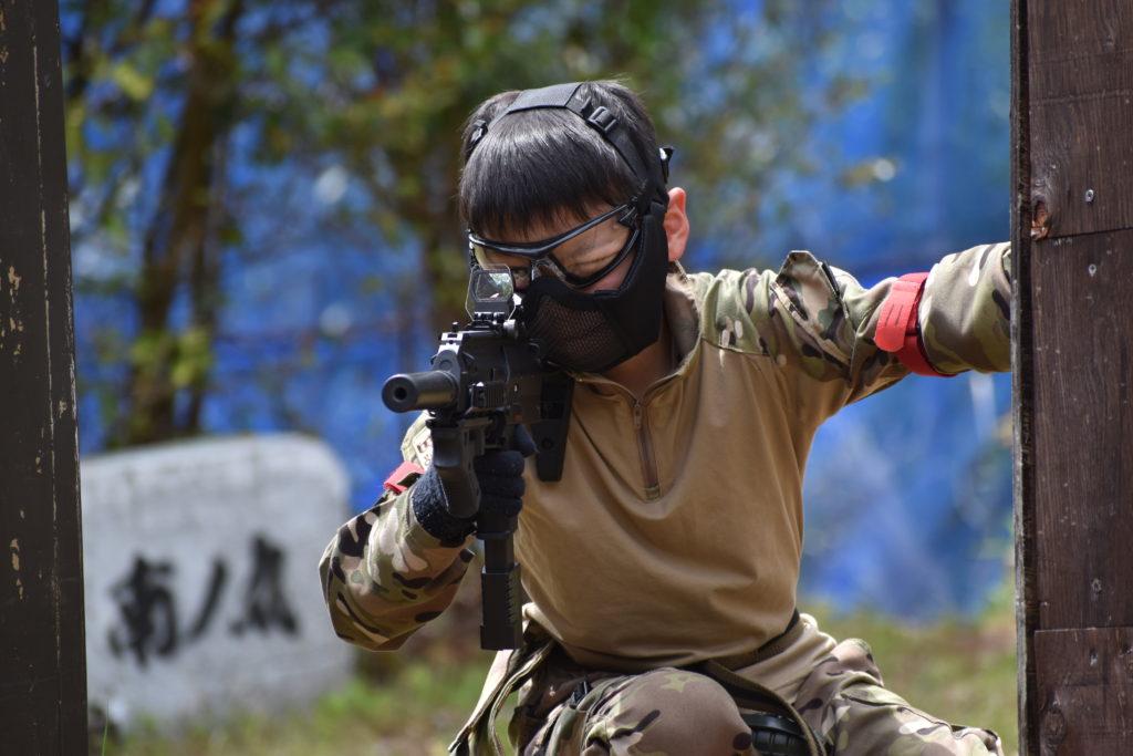 【親子サバゲー】(山中合戦場)2021/4/24の戦闘日誌